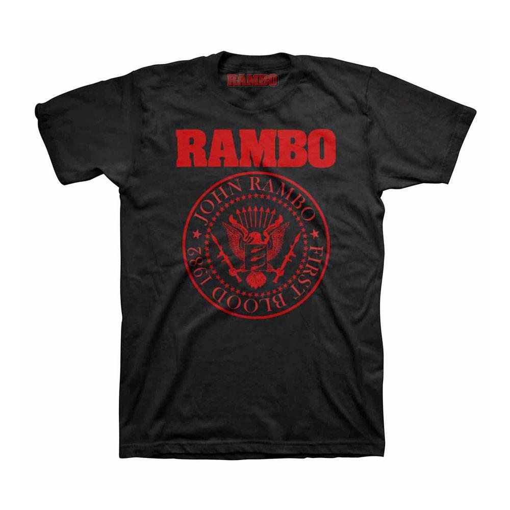 Rambo T-Shirt Seal Logo Size M