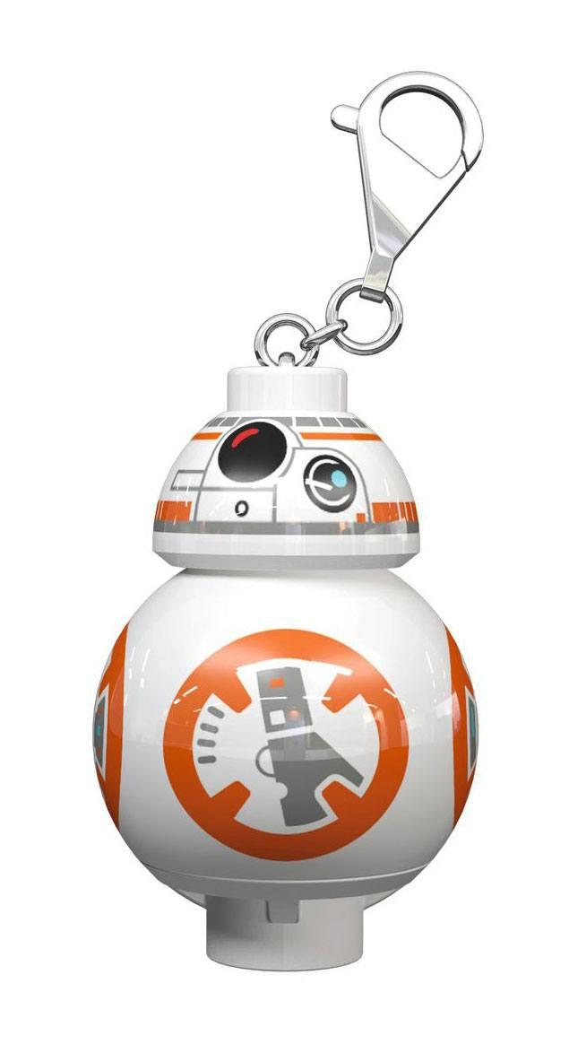 Lego Star Wars Mini-Flashlight with Keychains BB-8