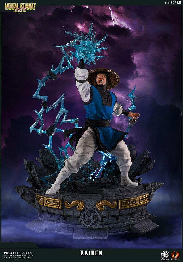 Mortal Kombat Klassic Statue 1/4 Raiden 58 cm