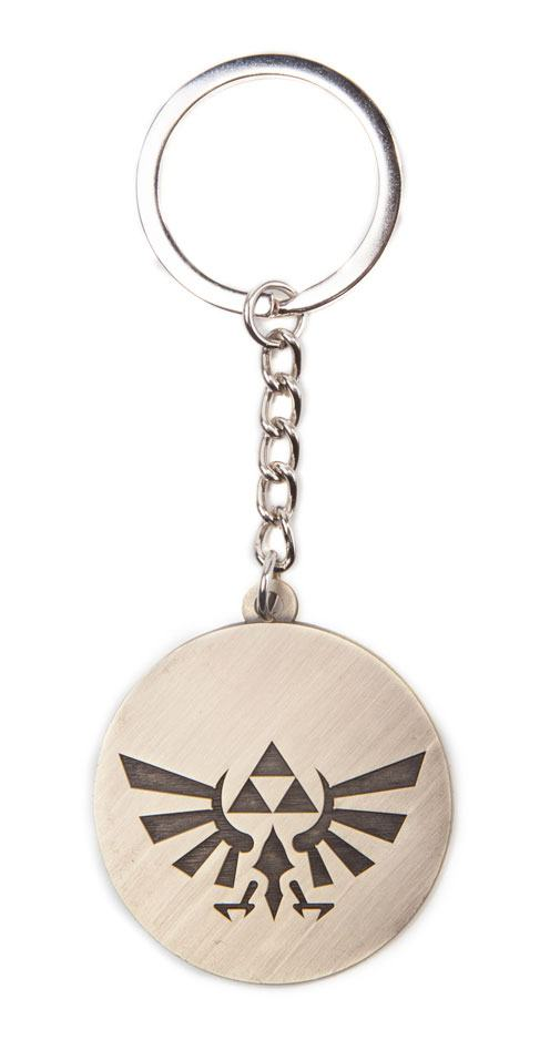The Legend of Zelda Metal Key Ring Triforce Logo