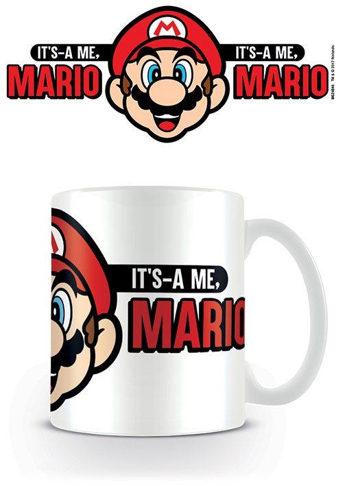Super Mario Mug Its A Me Mario