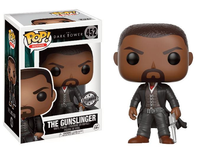 The Dark Tower POP! Movies Vinyl Figure The Gunslinger (Variant) 9 cm