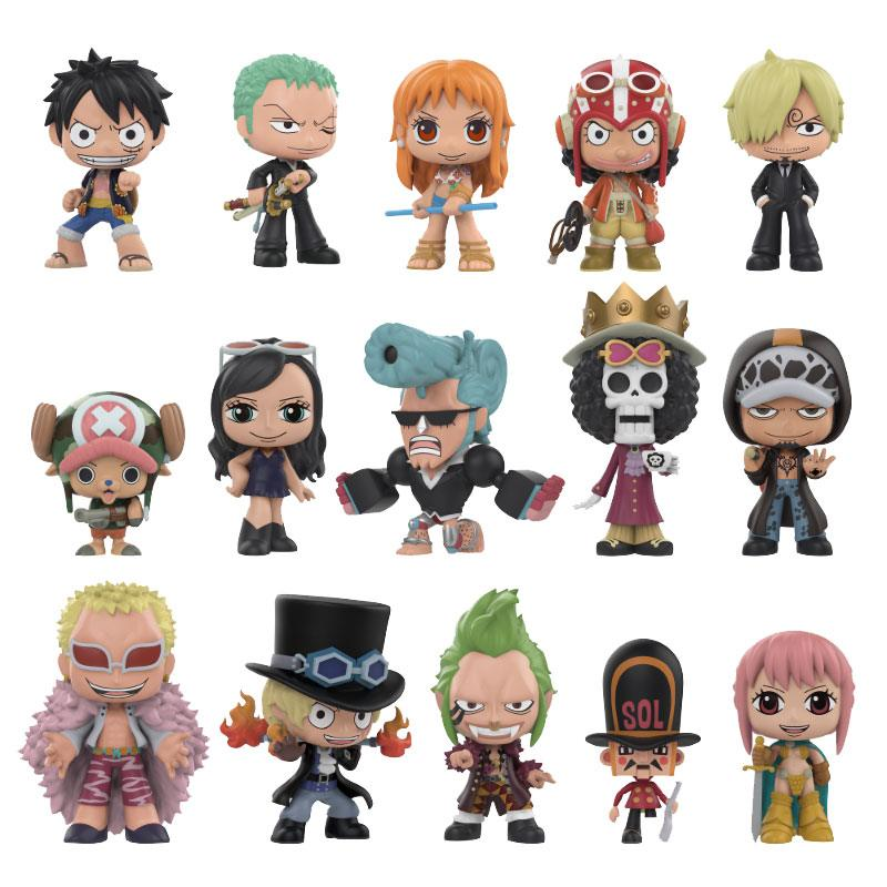 One Piece Mystery Mini Figures 5 cm Display (12)