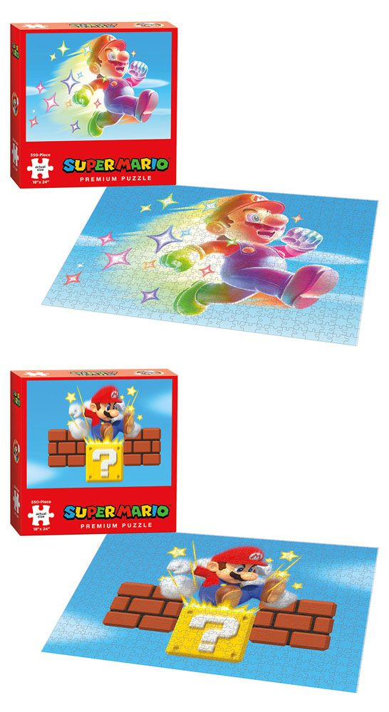 Super Mario Puzzle Star Power & Ground Pound Assortment (2)