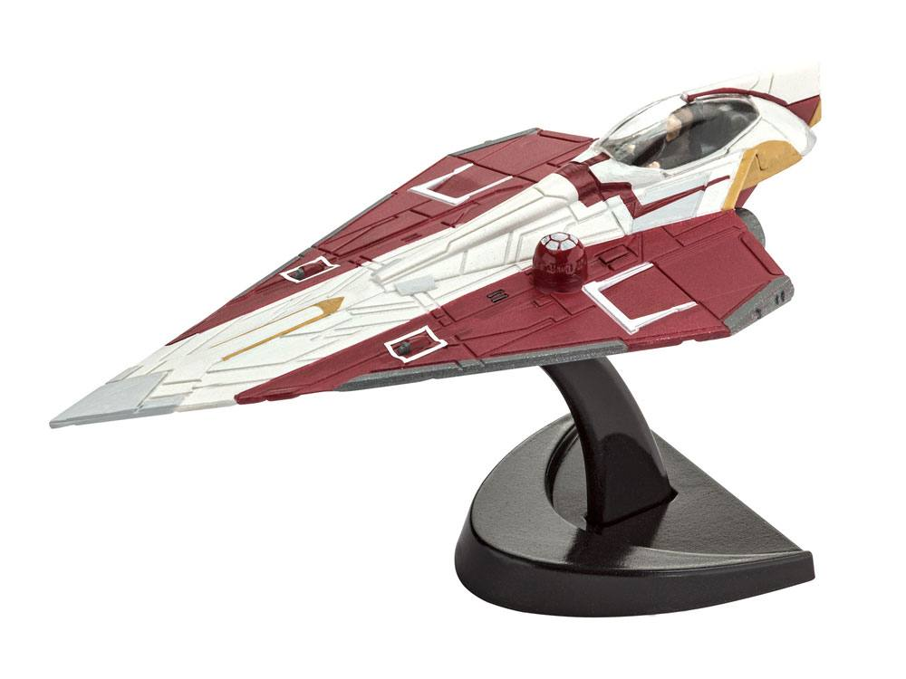 Star Wars Level 3 Model Kit 1/80 Jedi Starfighter 10 cm