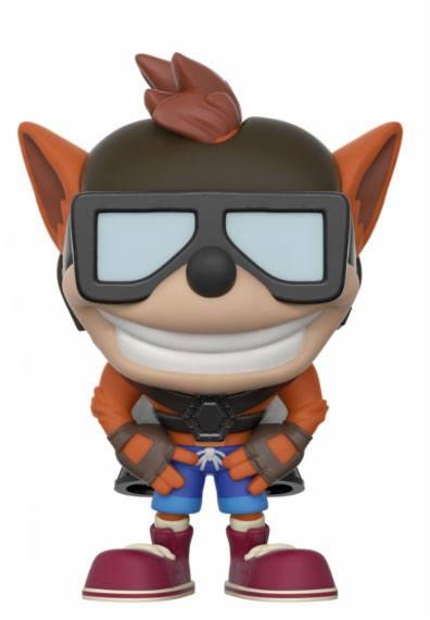 Crash Bandicoot POP! Games Vinyl Figure Crash Bandicoot with Jet Pack 9 cm