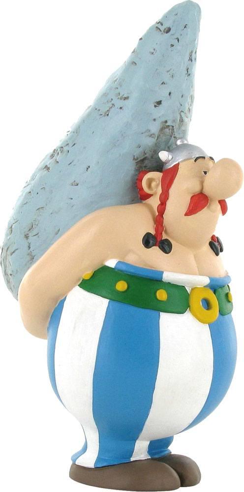 Asterix Figure Obelix with Menhir 12 cm