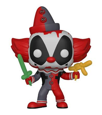 Deadpool Parody POP! Marvel Vinyl Figure Deadpool Clown 9 cm