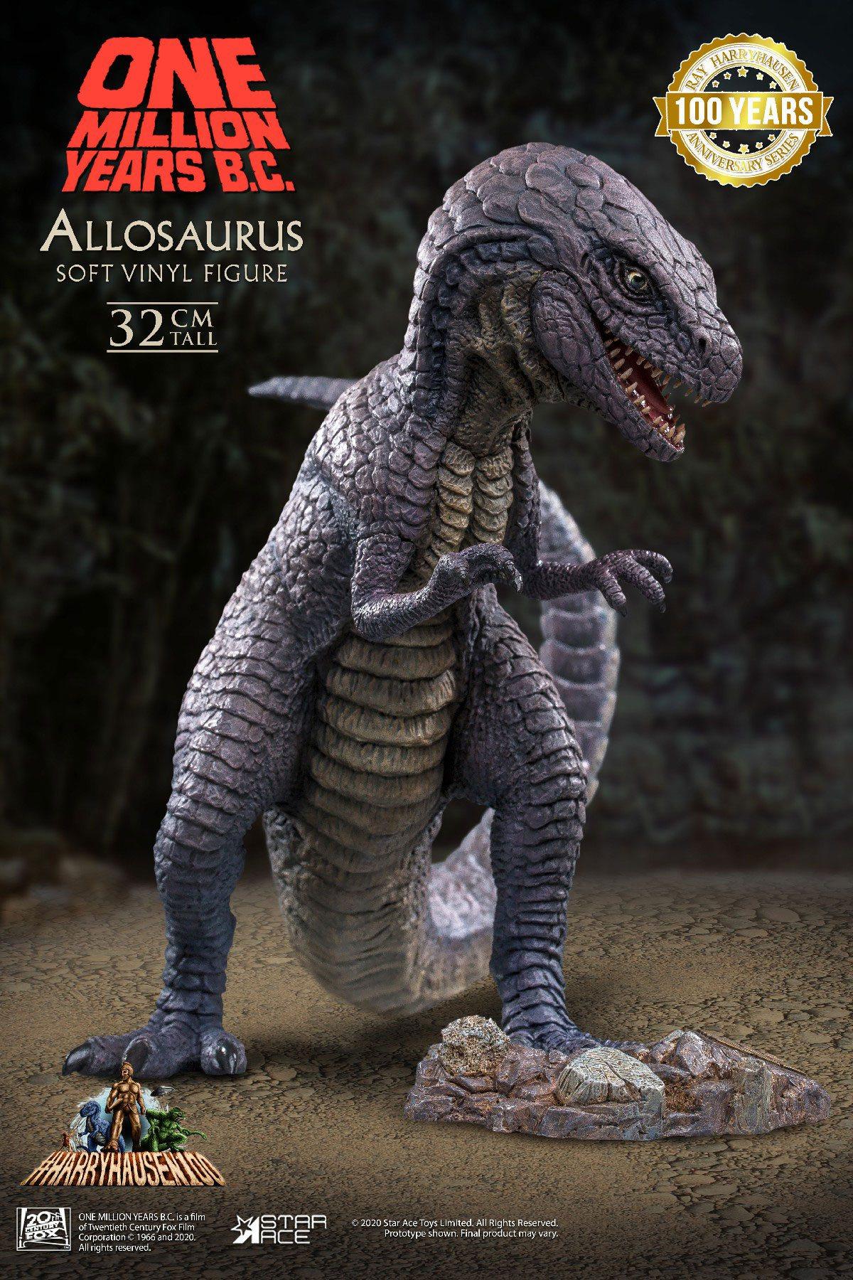 One Million Years B.C. Soft Vinyl Statue Allosaurus 32 cm