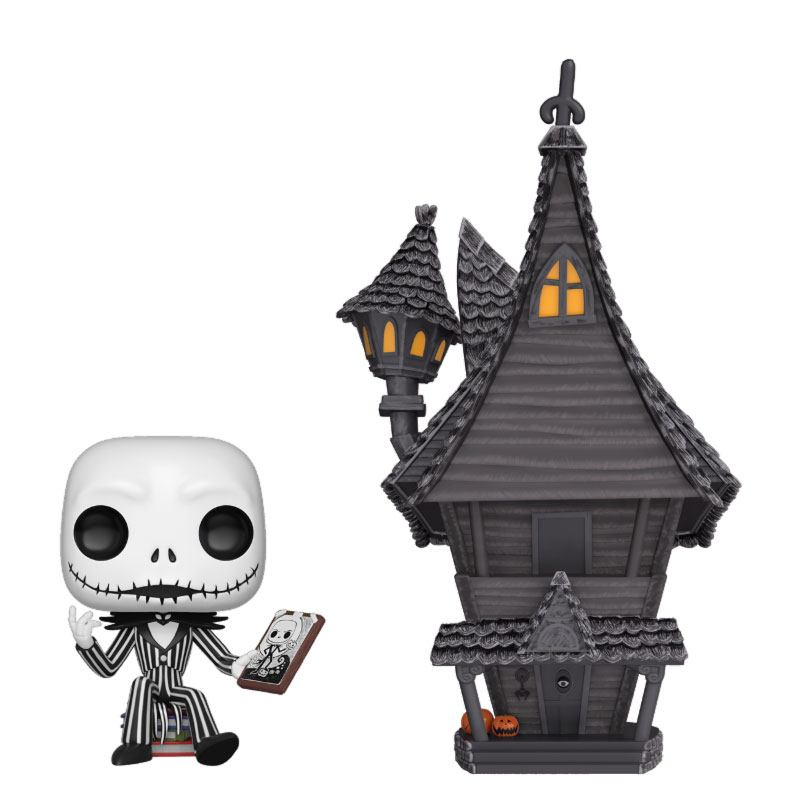 Nightmare before Christmas POP! Town Vinyl Figure Jack & Jack's House 9 cm