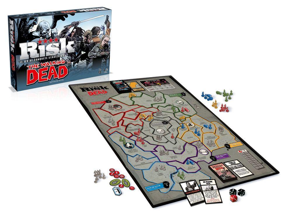 Walking Dead Board Game Risk *French Version* --- DAMAGED PACKAGING