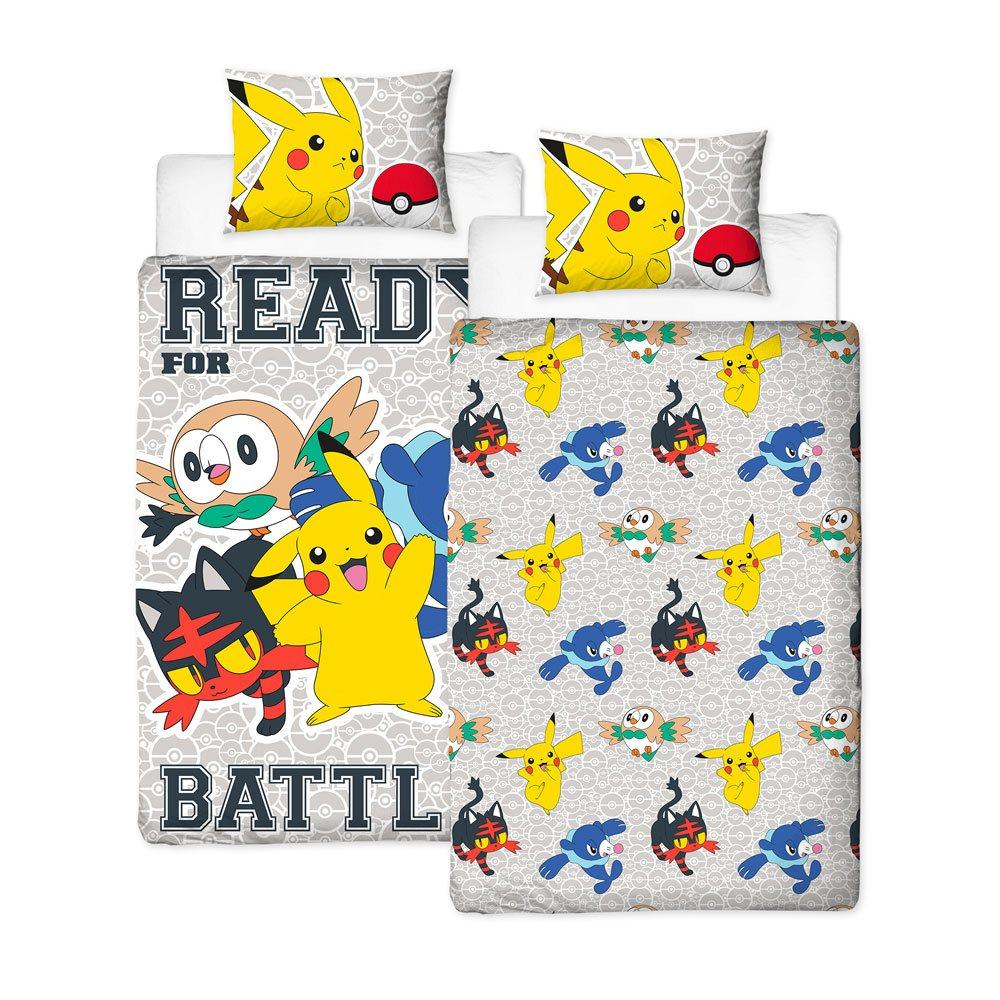 Pokemon Duvet Set Reversible Laredo 135 x 200 cm / 48 x 74 cm