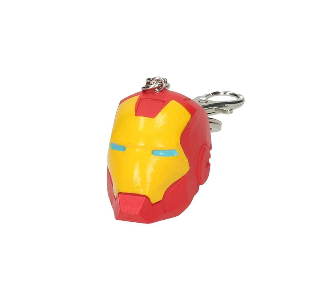 Iron Man PVC Keychain 3D Helmet 7 cm