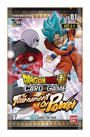 Dragonball Super Card Game Season 1 Booster Display The Tournament of Power (24) *English Version*