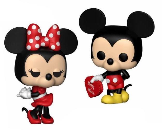 Disney POP! Vinyl Figures 2-Pack Mickey & Minnie 9 cm