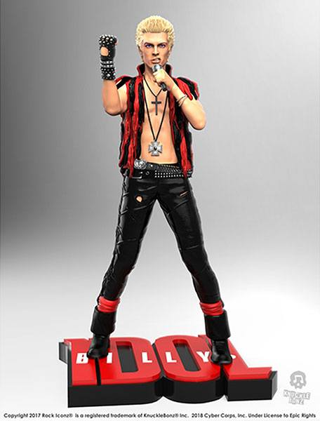 Billy Idol Rock Iconz Statue 22 cm