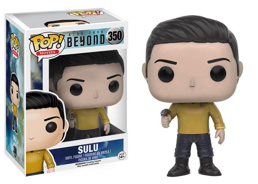 Star Trek Beyond POP! Vinyl Figure Sulu 9 cm