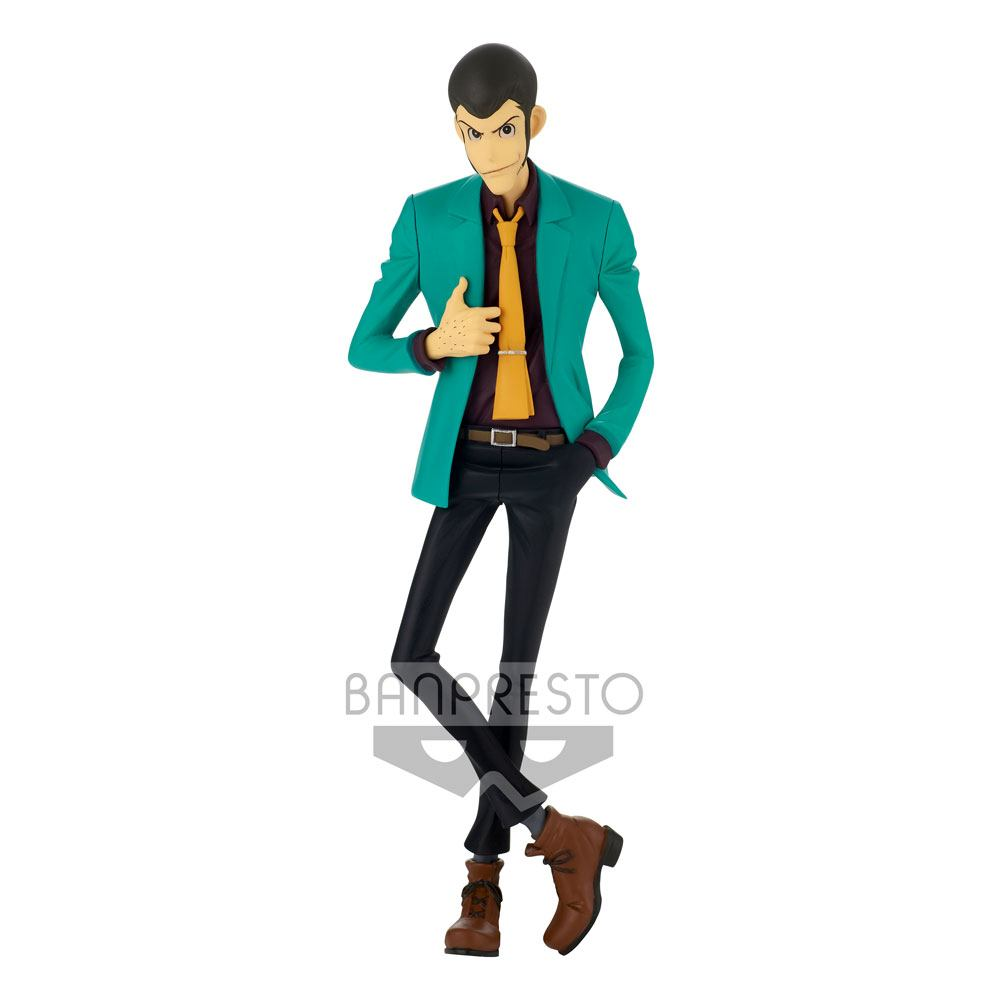 Lupin III Part6 Master Stars Piece Figure Lupin The Third 25 cm