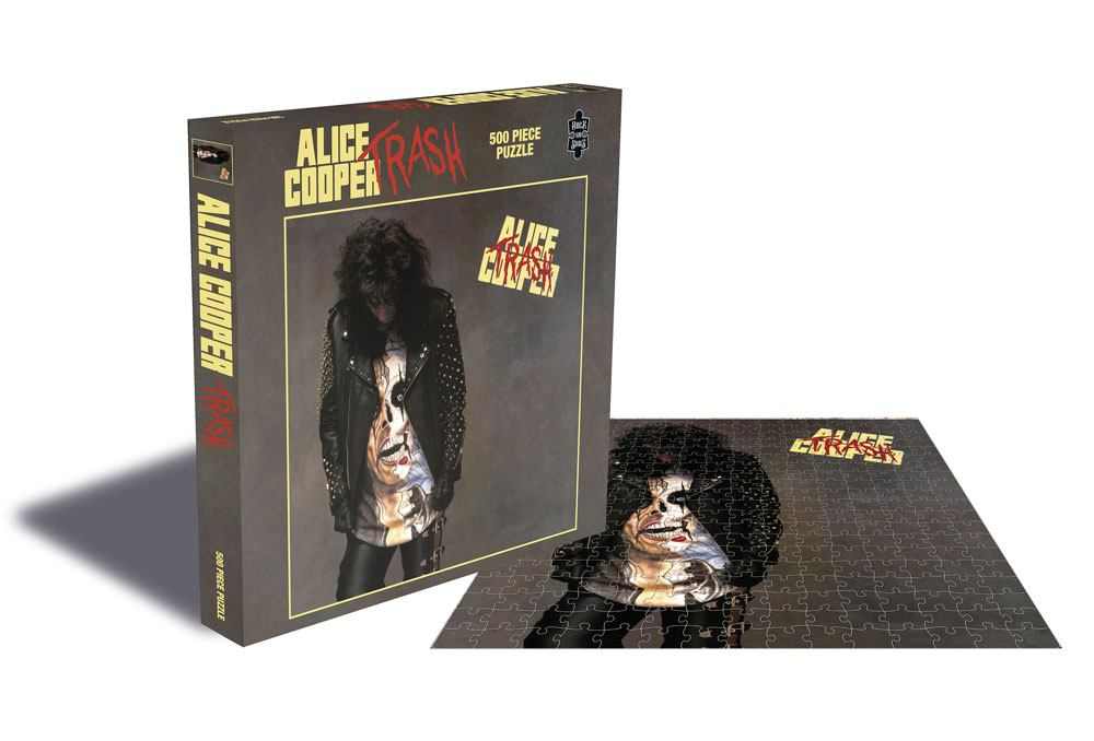 Alice Cooper Puzzle Trash