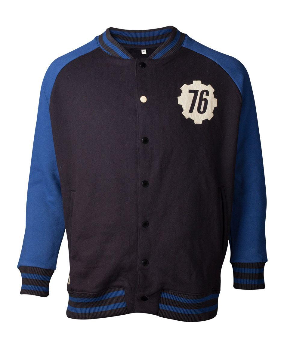 Fallout 76 Varsity Jacket Vault 76  Size M