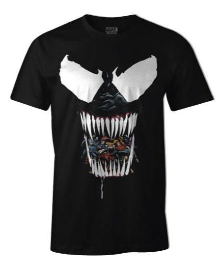 Venom T-Shirt Black Venom Size XL