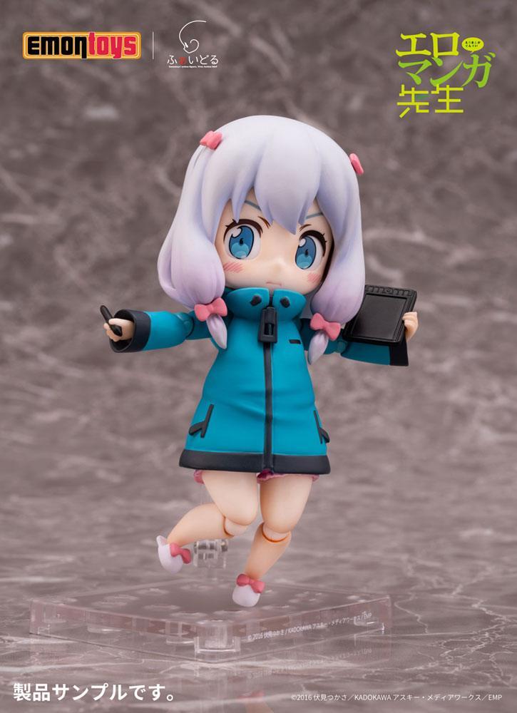 Eromanga Sensei Faidoll Action Figure Sagiri Izumi Vol. 1 13 cm