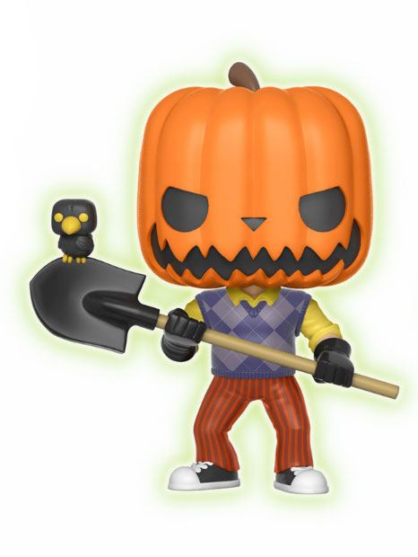 Hello Neighbor POP! Games Vinyl Figure Pumpkin Head GITD 9 cm