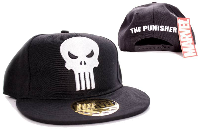 Punisher Adjustable Cap Logo black