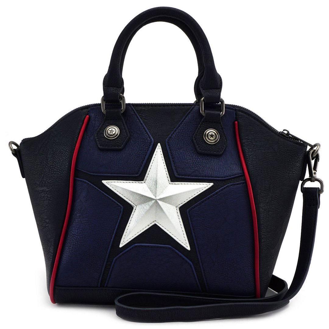 Marvel by Loungefly Crossbody Bag Captain America Cosplay