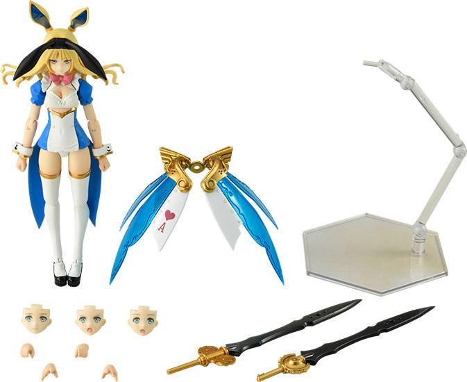 Guilty Princess Plastic Model Kit PLAMAX GP-02 Guilty Princess Maidroid Alice 16 cm