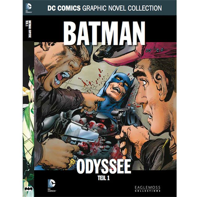 DC Comics Graphic Novel Collection #92 Batman: Odyssee, Teil 1 Case (12) *German Version*
