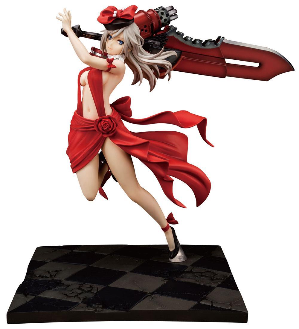 God Eater PVC Statue 1/7 Alisa Ilyinichna Omela Crimson Anniversary Dress Ver. 25 cm