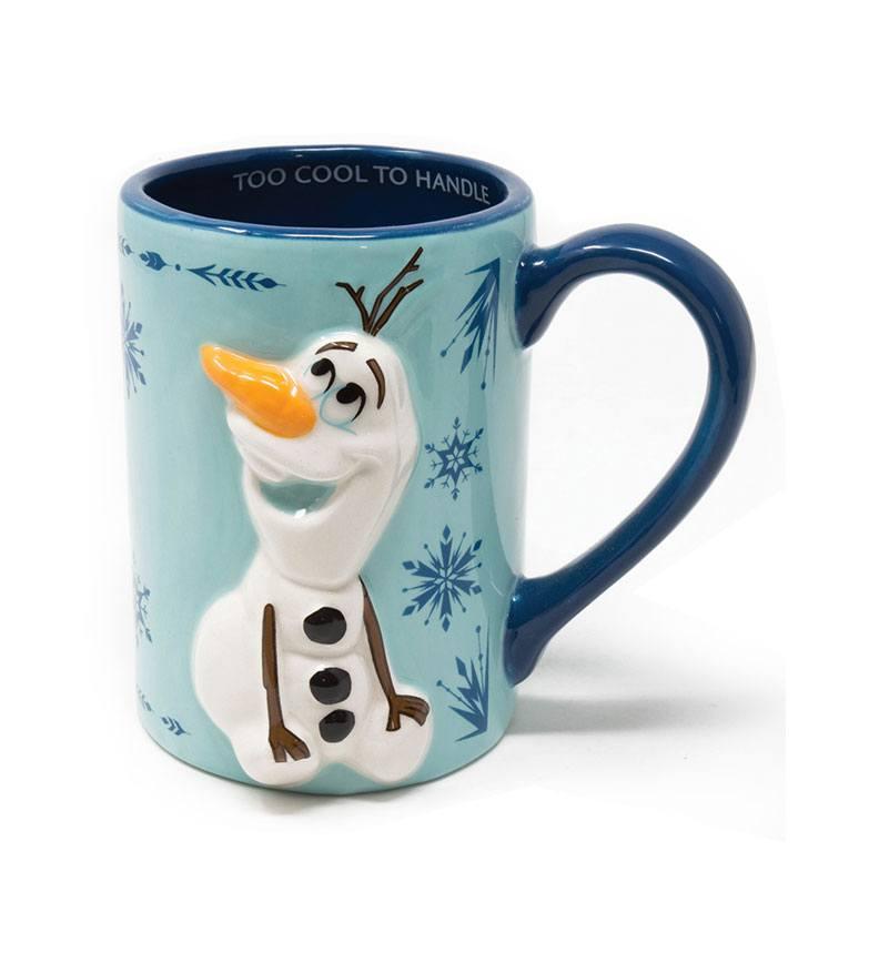 Frozen 2 3D Shaped Mug Olaf Snowflakes