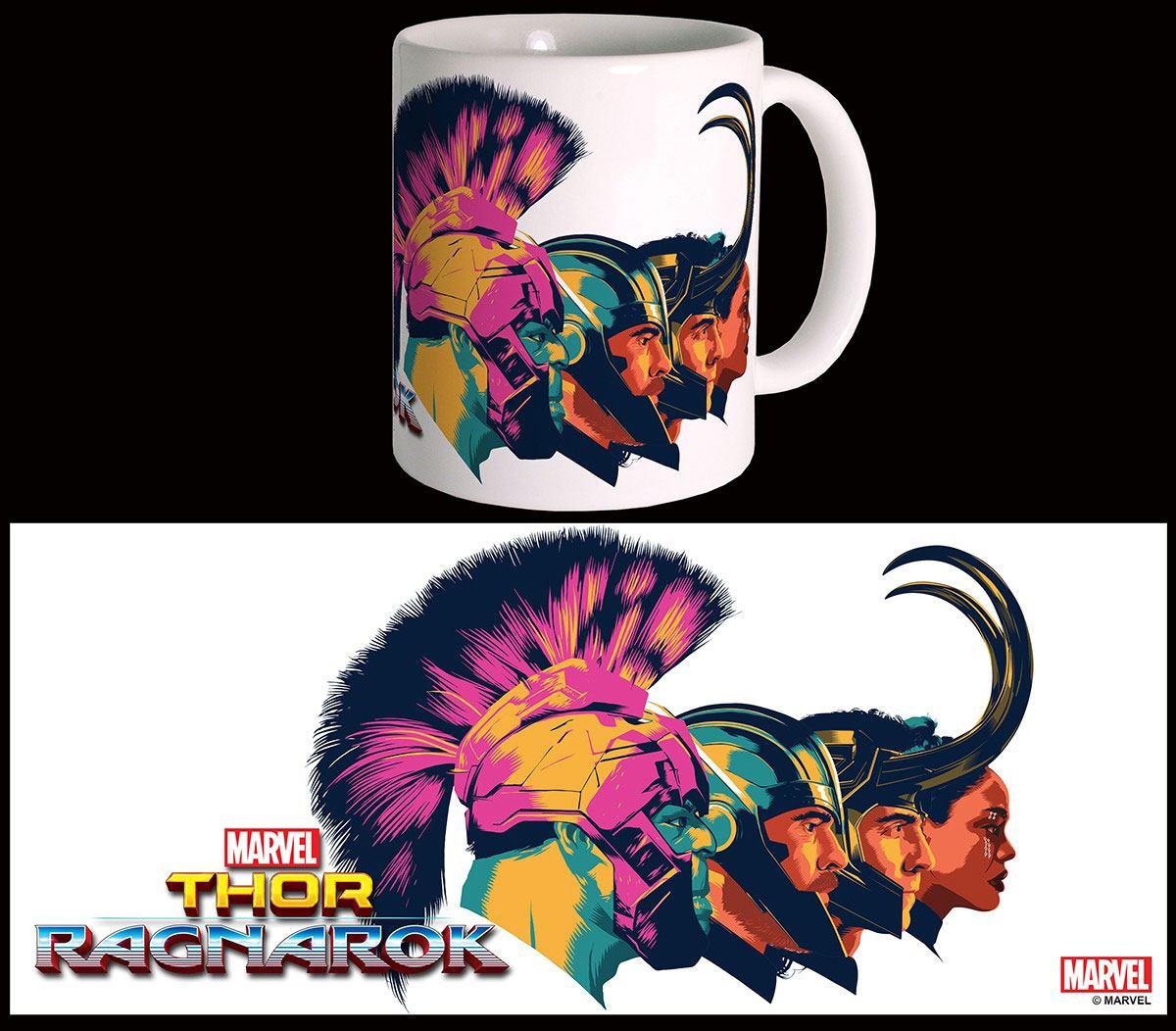 Thor Ragnarok Mug Profiles