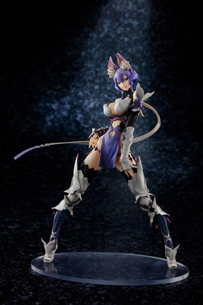 7th Dragon III Code VFD PVC Statue 1/7 Rune-Knight 24 cm --- DAMAGED PACKAGING