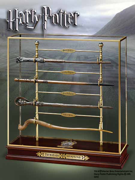 Harry Potter Triwizard Champions Wand Set