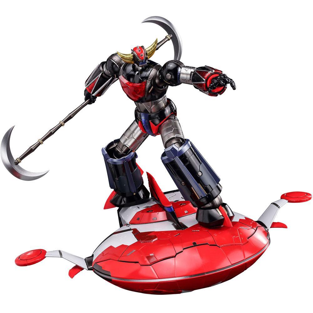 UFO Robot Grendizer Diecast Action Figure Riobot Grandizer Deluxe Version 17 cm