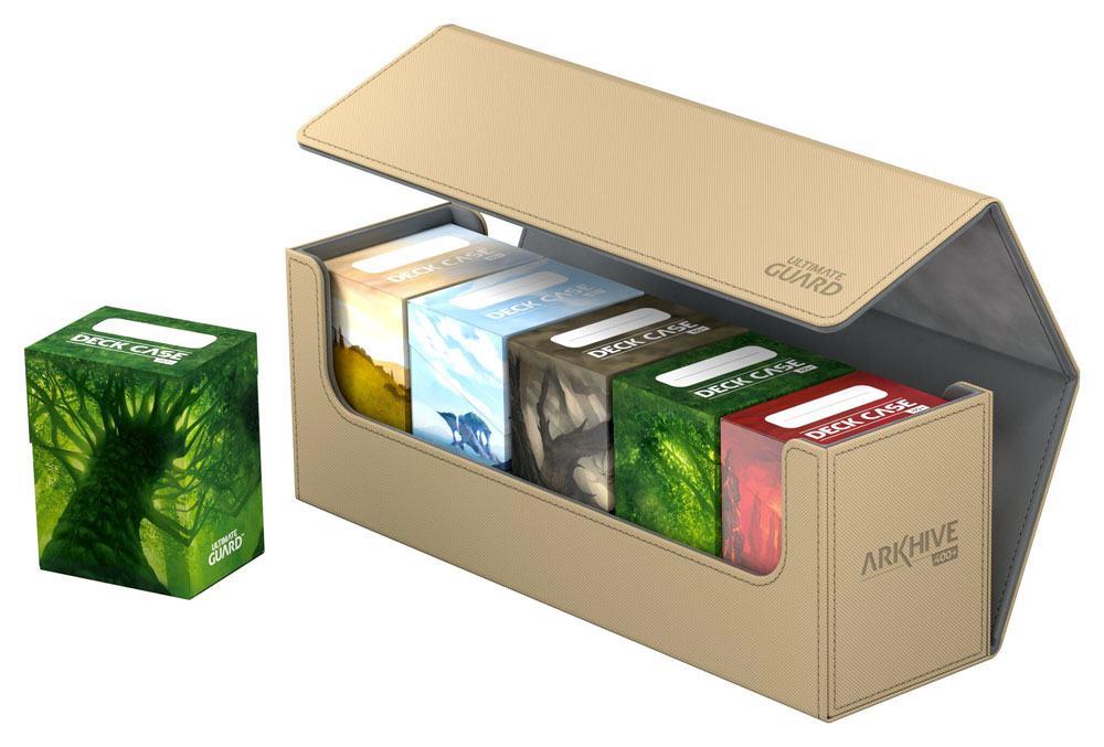Ultimate Guard Arkhive 400+ Standard Size XenoSkin™ Sand
