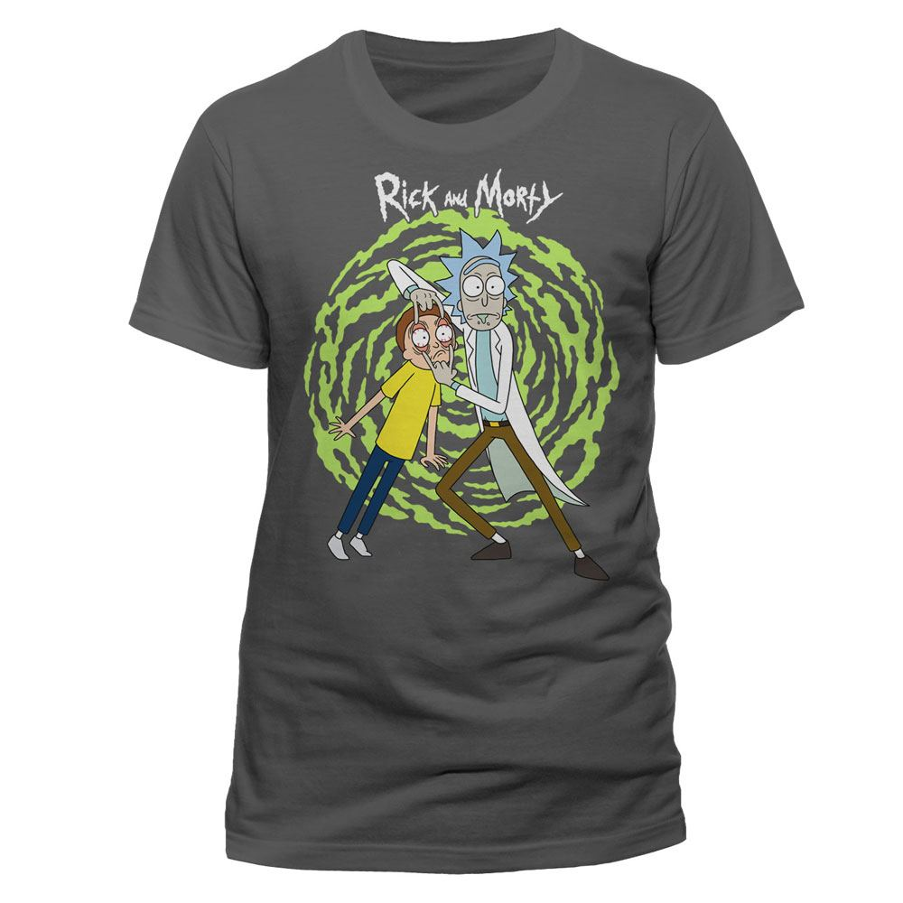 Rick and Morty T-Shirt Spiral Size XXL