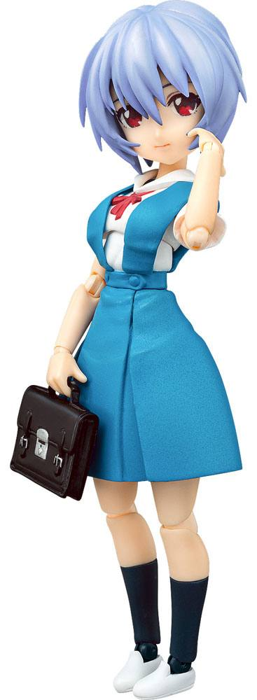 Rebuild of Evangelion Parfom R! Action Figure Rei Ayanami: School Uniform Ver. 14 cm