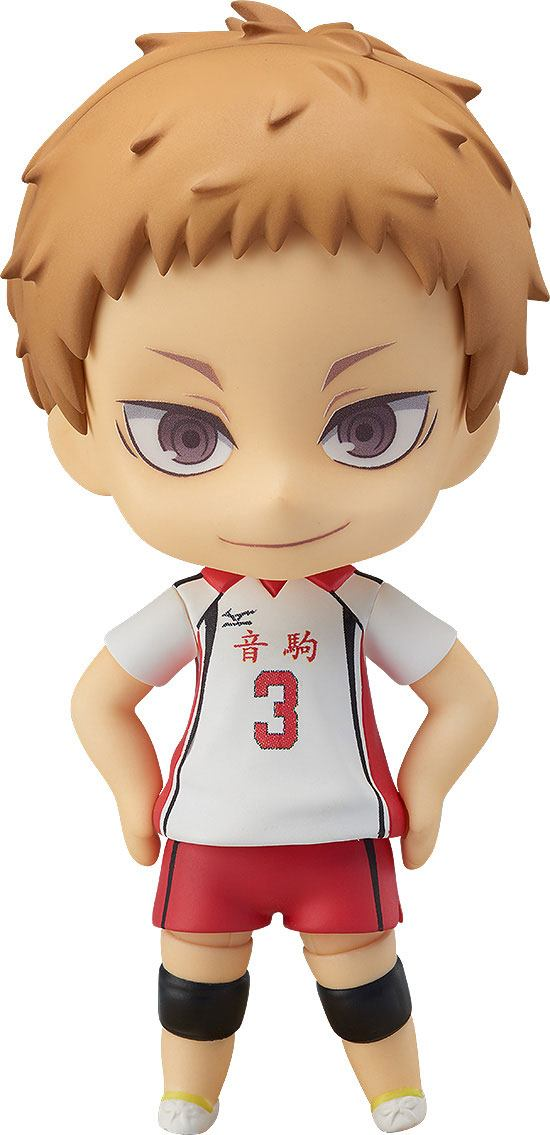 Haikyu!! Nendoroid Action Figure Morisuke Yaku 10 cm