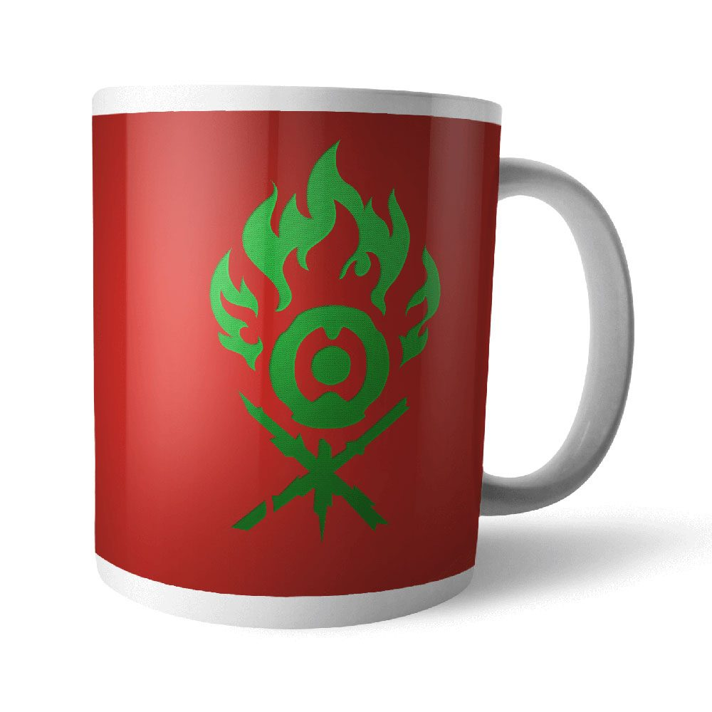 Magic the Gathering Mug Gruul