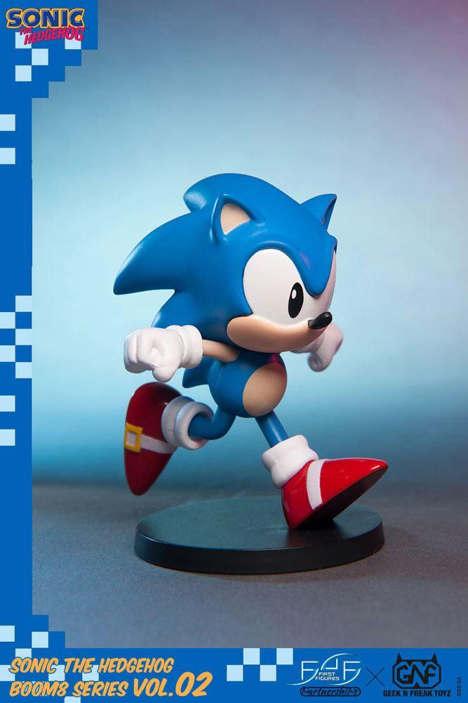 Sonic The Hedgehog BOOM8 Series PVC Figure Vol. 02 Sonic 8 cm
