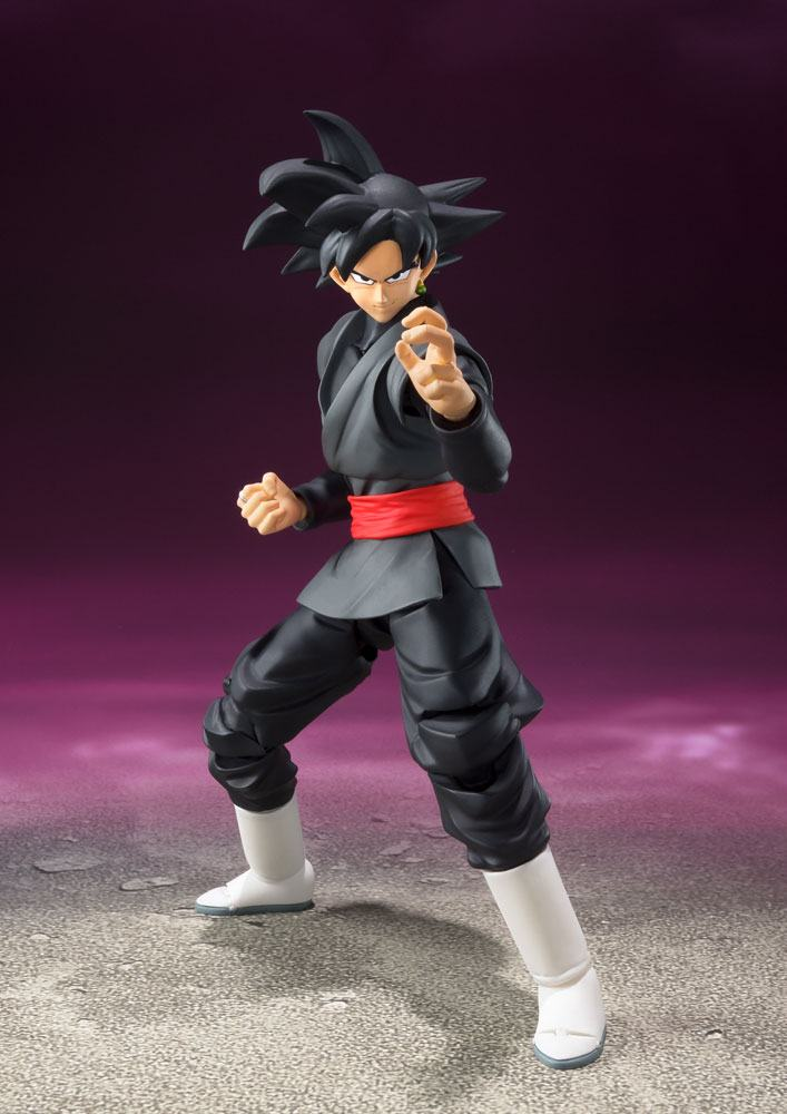 Dragonball Super S.H. Figuarts Action Figure Goku Black Tamashii Web Exclusive 18 cm