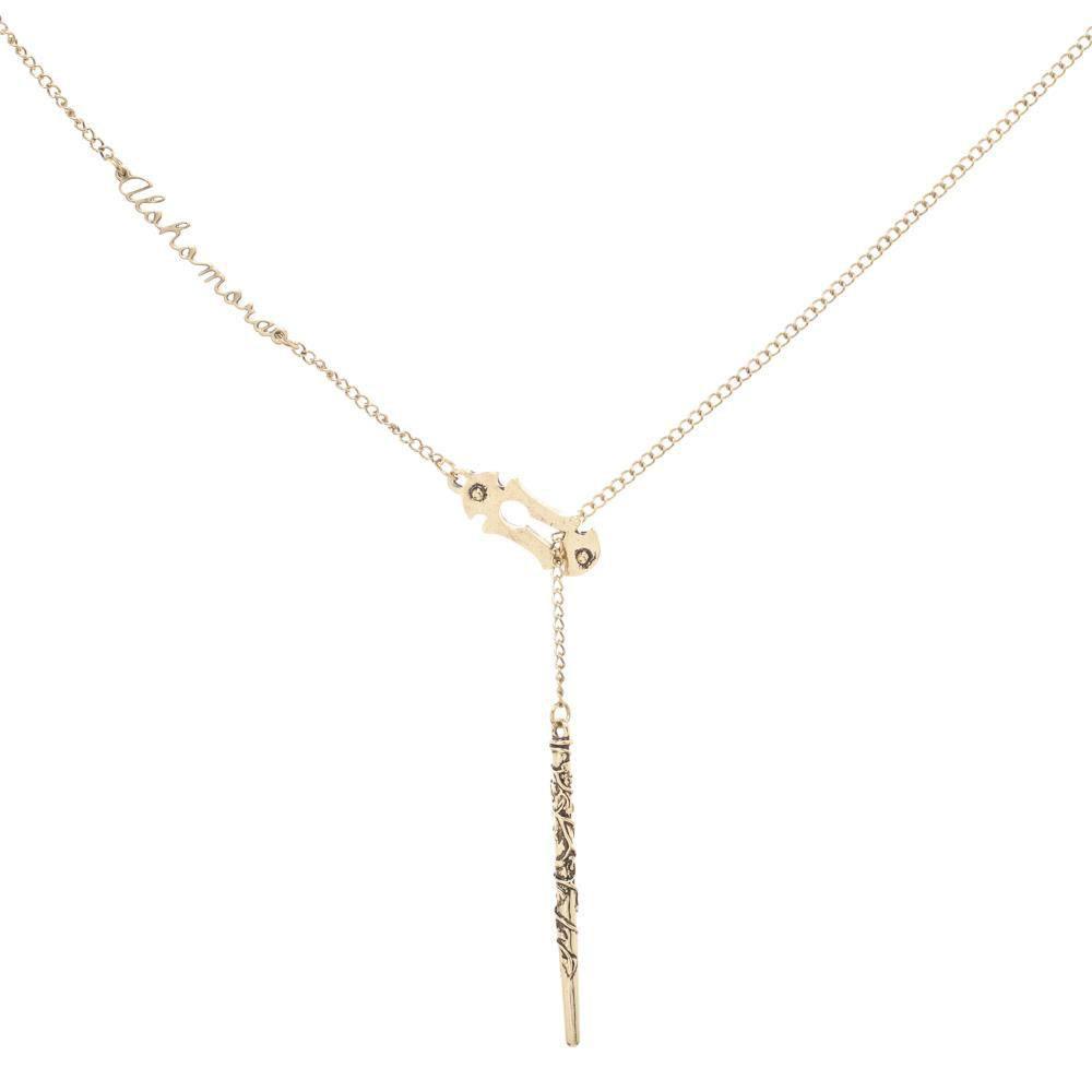 Harry Potter Pendant & Necklace Alohomora