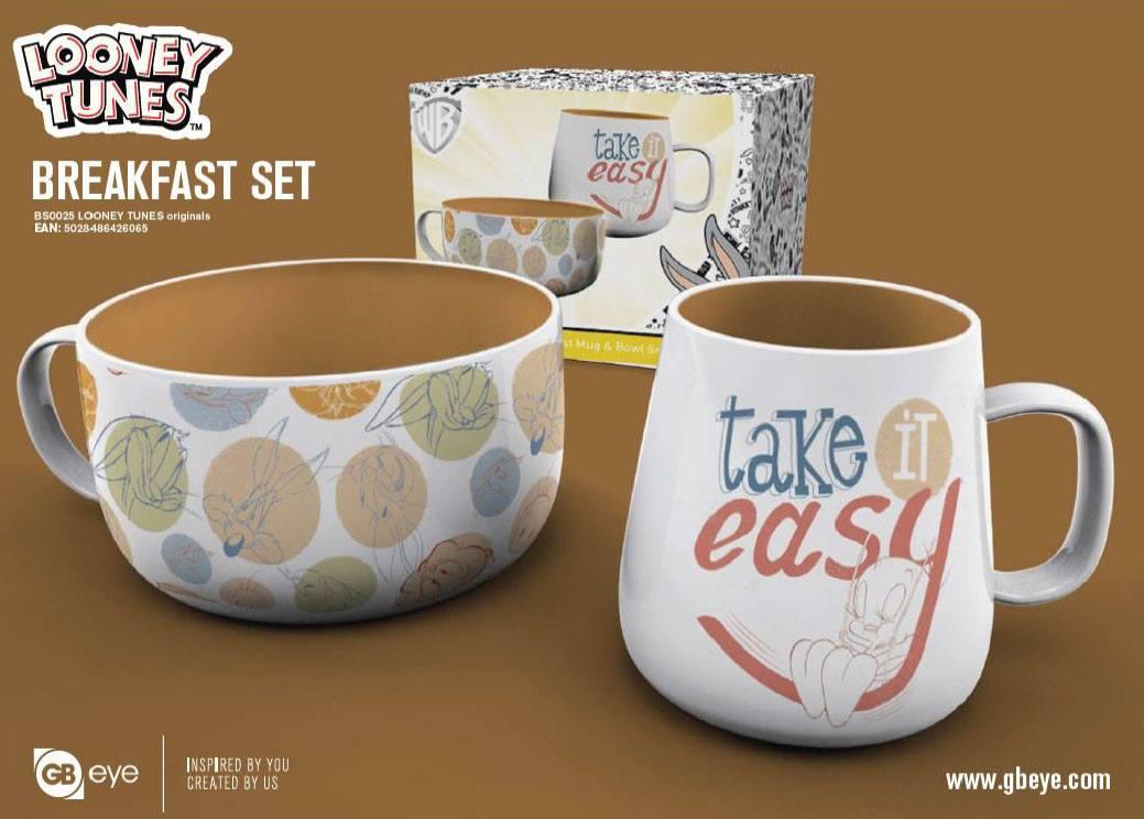 Looney Tunes Breakfast Set Originals