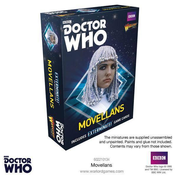 Doctor Who Exterminate! Miniatures Movellans *English Version*