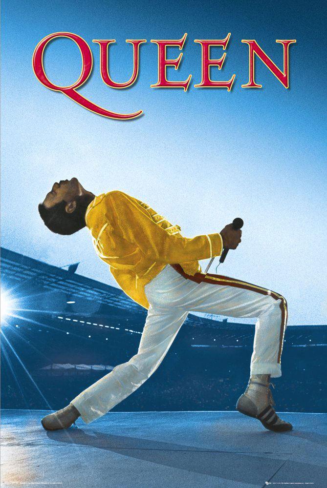 Queen Poster Pack Wembley 61 x 91 cm (5)