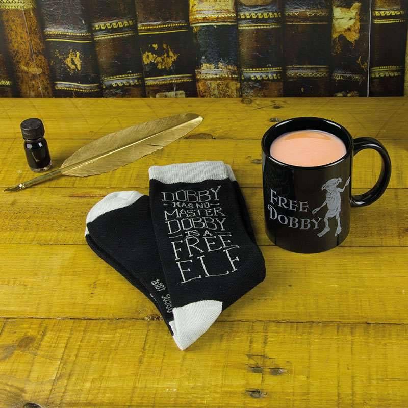 Harry Potter Mug & Socks Set Free Dobby