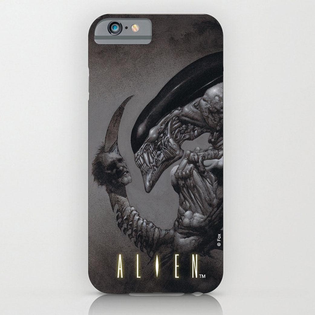 Alien iPhone 6 Plus Case Dead Head